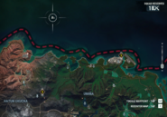 JC4 floating building off the northern coast map