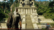 JC4 temple with a big head