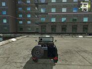 Wallys GP, Guerrilla version, patrol, rear view.