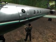 Military Stirling Jet Exclusive 9 Door close-up