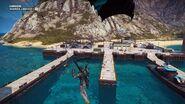 Guardia Libeccio I (parachuting at the dock)