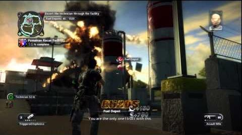 Just Cause 2 - Stronghold Takeover - Chemical Compound
