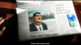 Good Cop, Bad Cop newspaper
