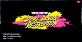 JC4 (DD in-game trailer, logo)