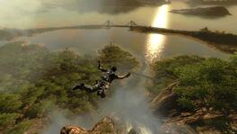 Panau Tengah Bay - Panau Falls