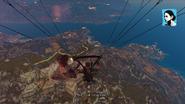 Missile cowboy missile hit