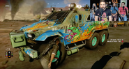JC4 Rebel armored truck (Funhaus video)