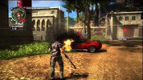 Just Cause 2 - Faction Mission - Fender Bender
