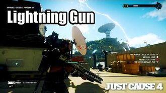 JUST CAUSE 4 - Lightning Gun Gameplay (A Shocking & Powerful Weapon!)