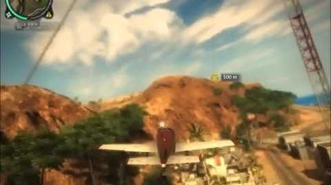 Just Cause 2 Low flyer achievement The easy way
