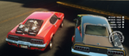 Rigged Coyle Mambo and Deathstalker Scorpion Muscle Car (rear ends)