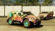Warrior Offroader (right front corner, Army of Chaos)