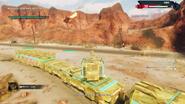 Operation Sandstinger (flying tank)