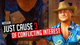 Just Cause 3 Mission Conflicting Interests