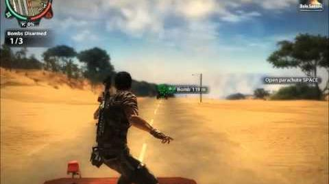 Just Cause 2 Mission Hell on Wheels