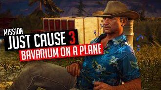 Just Cause 3 Mission Bavarium On a Plane