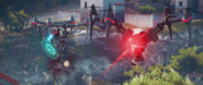 JC3 small shield drone and red drone (2)