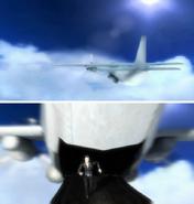 Agency cargo plane