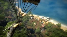 Nelayan parachute