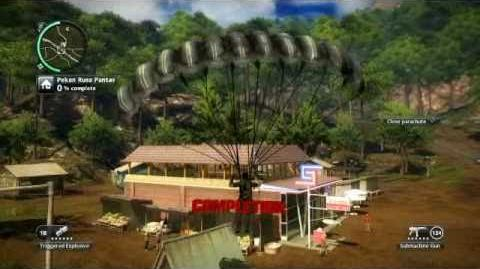 Just Cause 2- settlement completion- Pekan Rusa Pantas