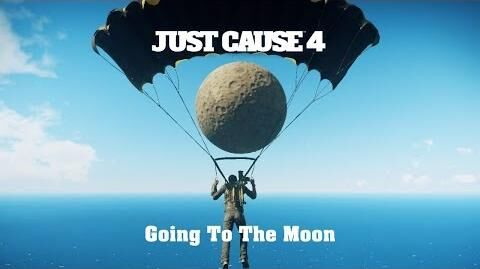 Just Cause 4 - Easter Egg - The Moon