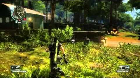 Just Cause 2- settlement completion- Pekan Buah Melimpah