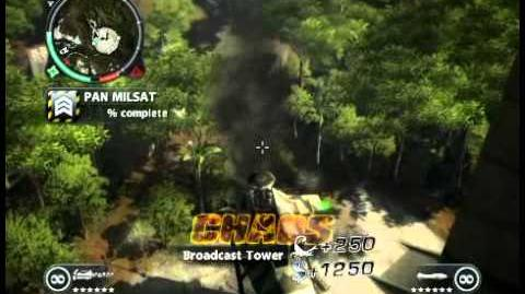 Just Cause 2 - PAN MILSAT - military base