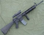 Real assault rifle, similar to the JC2 beta one