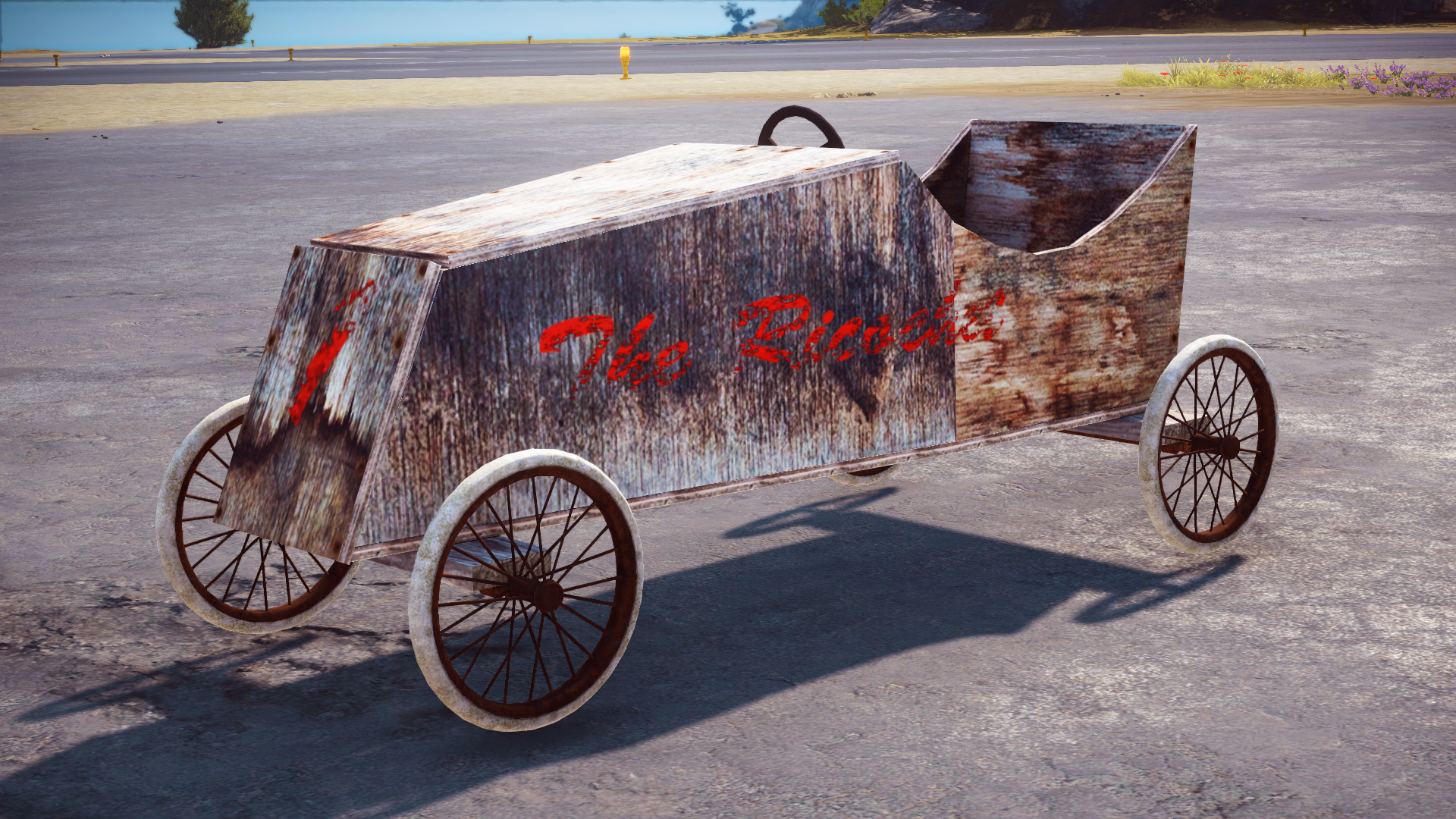 Soap box car just cause 3