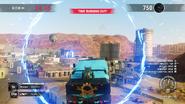 Rampage Petrol City (jumping through a ring)