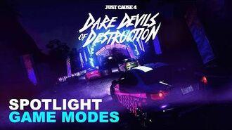 Just Cause 4 SPOTLIGHT Dare Devils of Destruction Game Modes & Gangs