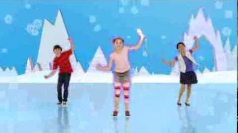 Gracie Haschak in Freeze Dance Just Dance Kids 2014 Video Game
