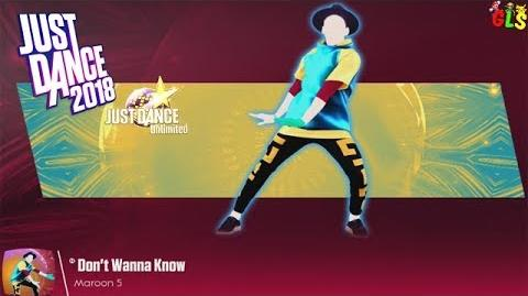 Just Dance 2018 - Don't Wanna Know