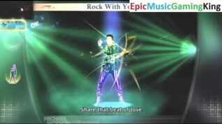 "Michael Jackson The Experience Gameplay - ""Rock With You"" - High Score Of 1,275 Points"