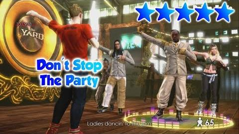 The Black Eyed Peas Experience - Don't Stop The Party - S Rank