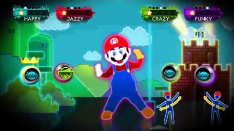 Just Mario - Just Dance 3 Gameplay Teaser (US)