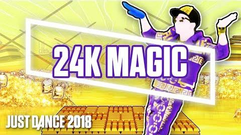 24K Magic by Bruno Mars - Official Track Gameplay