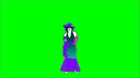 Just Dance Now - When I Grow Up (C1) Green Screen Extraction
