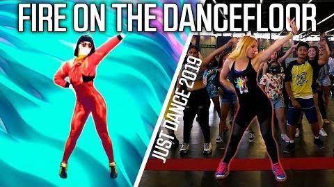 Just Dance 2019 FIRE ON THE DANCEFLOOR Michelle Delamor - Full gameplay