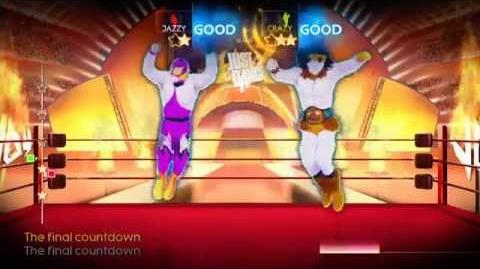 Just Dance 4 The Final Countdown (HD)