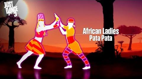 Pata Pata - Just Dance 3 (Xbox 360 graphics)