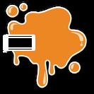 OrangeSplatterSkin