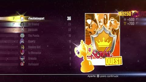 Just Dance 2016 - JD Unlimited Quest (Royal Quest - Dance Master) - 5 6
