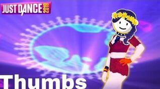 Just Dance 2019 - Thumbs by Sabrina Carpenter w lyrics - 5 Stars