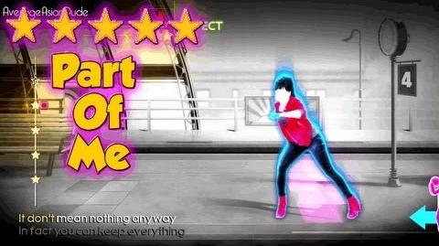 Just Dance 4 - Part Of Me - 5* Stars