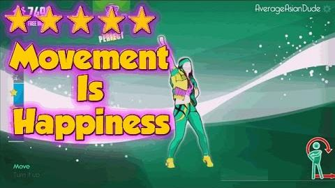 Just Dance Now - Movement Is Happiness - 5* Stars