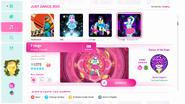 7 rings - Экстремальная версия - Меню Just Dance 2020