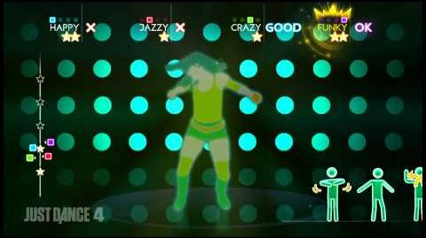""" Boom"" by Reggaeton Storm - Just Dance 4 track UK"