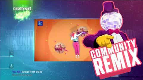 Just Dance 2016 - All About That Bass (Community Remix - Old Gen) - 5 stars