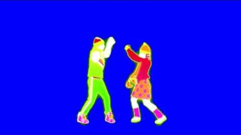 Just Dance Now - A Punk Blue Screen Extraction